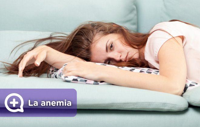 Persona cansada, con fatiga, falta de vitaminas, anemia, menstruación, embarazo