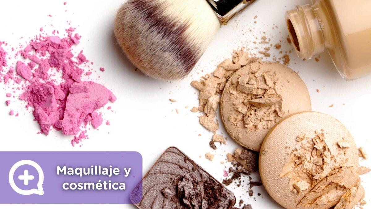 Cosmética, maquillaje, makeup, brochas, alergia, caducidad, dermatología