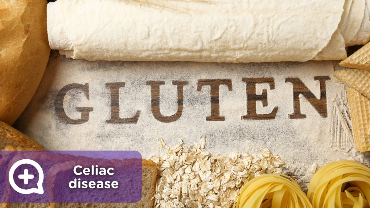 Celiac disease, protein, cereal, contains gluten, free. Feeding. Nutrition. mediQuo, your doctor friend. Medical chat