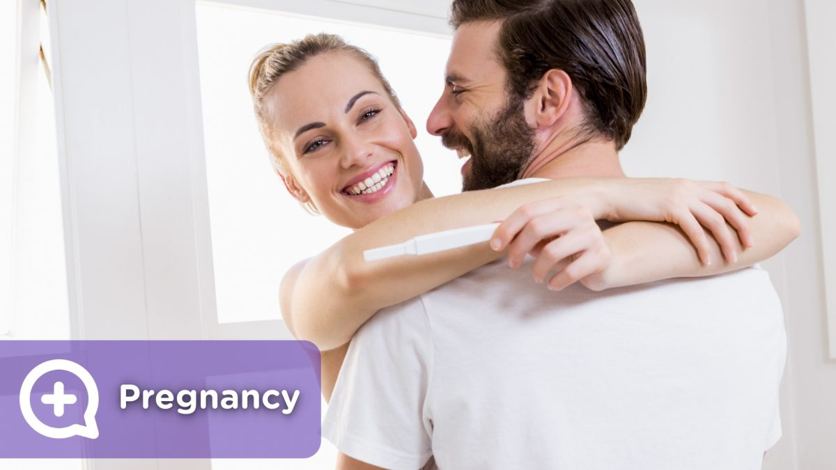 Pregnant Positive pregnancy test Gynecology. mediQuo, your doctor friend. Medical chat