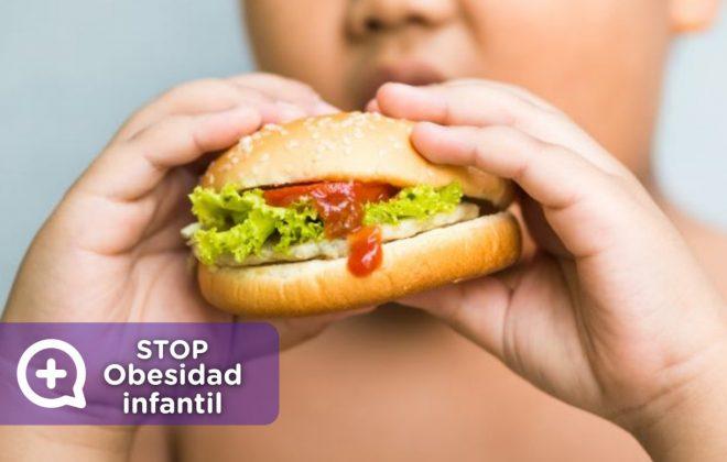 STOP obesidad infantil. Vida saludable. No al sedentarismo. MediQuo, Tu amigo médico. Chat médico. Nutrición. Sònia Cibrián.