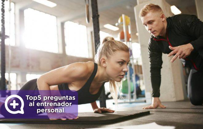 Las 5 preguntas más frecuentes al entrenador personal, entrenamiento deportivo, rutinas, gimnasio, workout, workdone. MediQuo, tu amigo médico. Chat médico.
