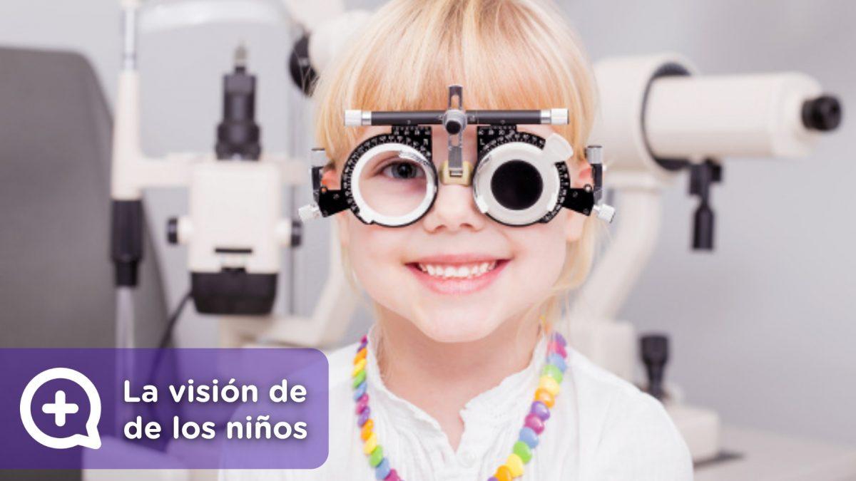 Visión en niños, estrabismo, visión borrosa, astigmatismo, miopía, fracaso escolar, dolor de cabeza, falta de atención. MediQuo, tu amigo médico. Chat médico.