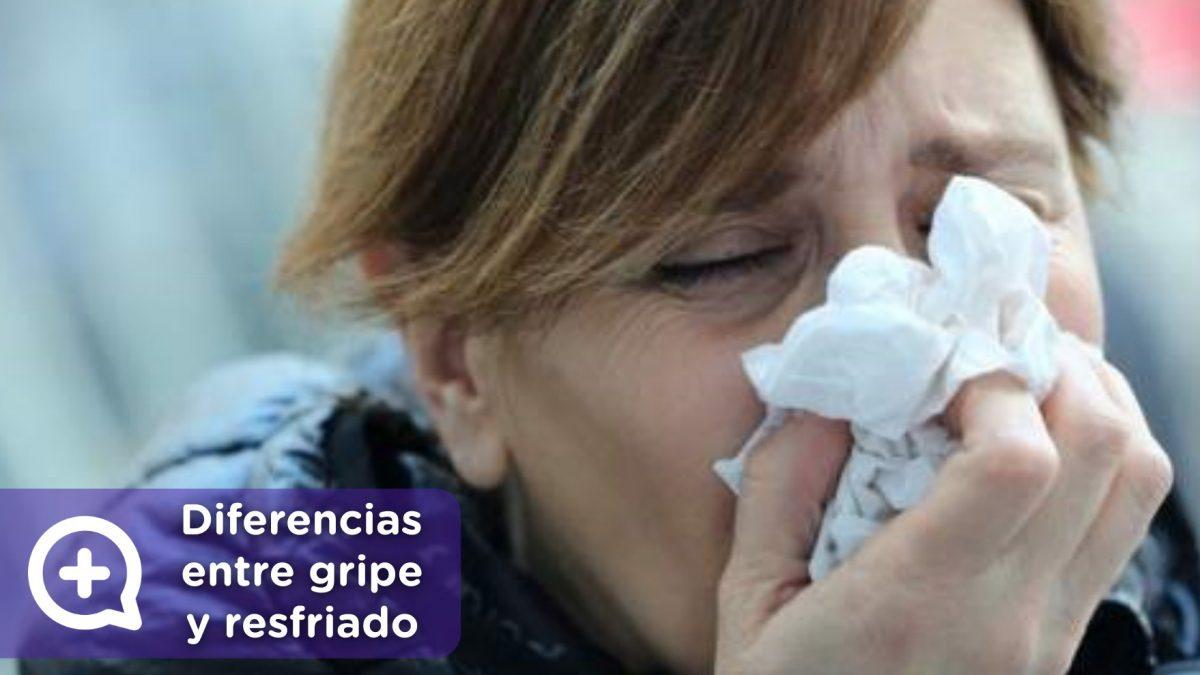 Gripe o resfriado, diferencias. MediQuo, tu amigo médico, chat médico.