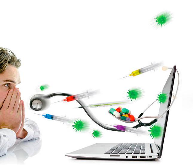 Cibercondría. Buscar síntomas en internet. MediQuo. Tu amigo médico. Chat médico.