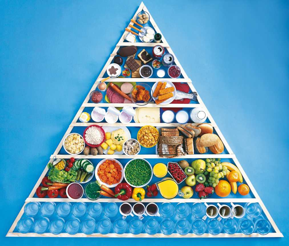 Nueva Pirámide comida. España primer país estudio Bloomberg, vida saludable. Mediquo. Chat médico. Tu amigo médico.