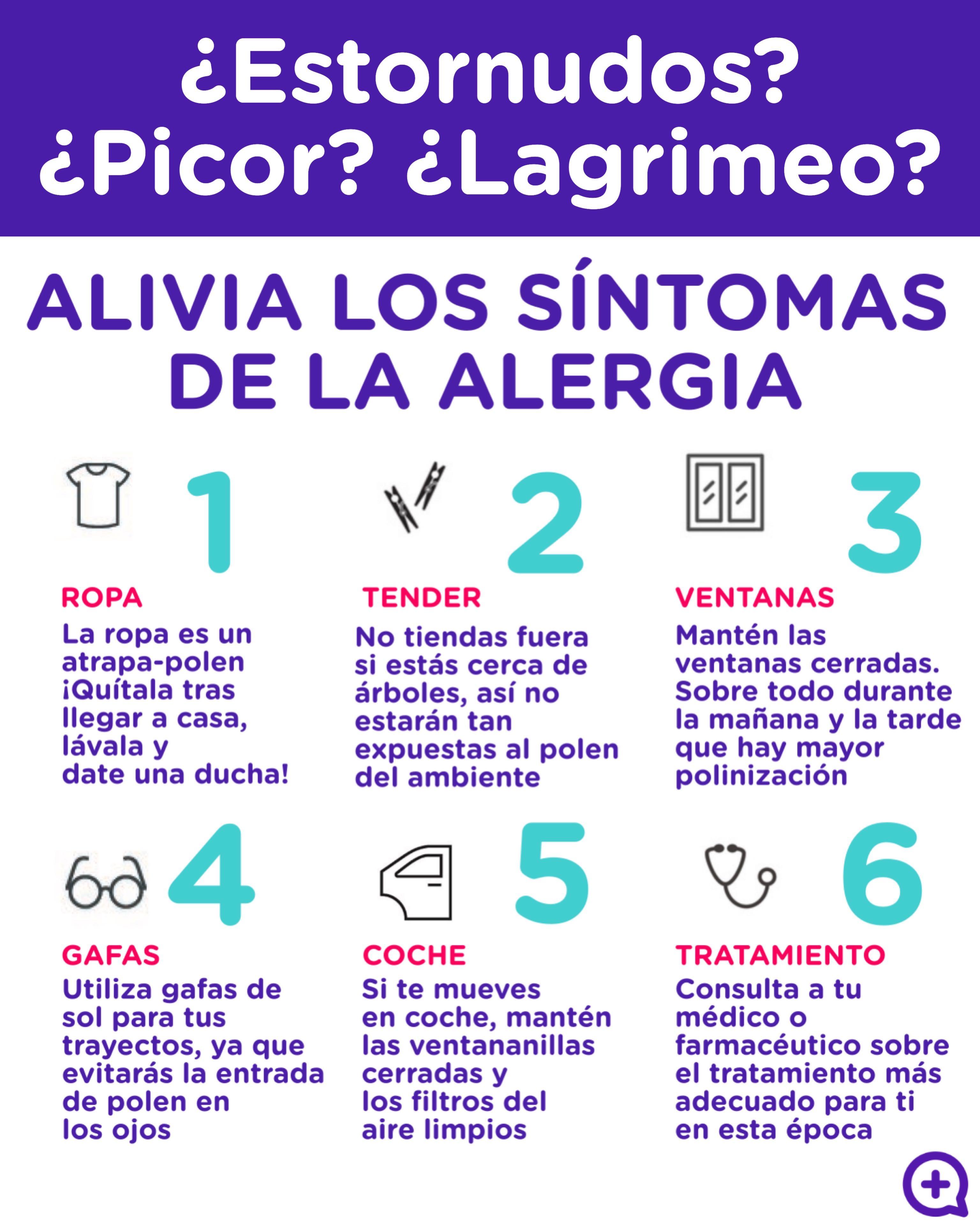 alergia, polen, síntomas, ciprés, estornudos, picor, lagrimeo. Mediquo. Tu amigo médico. Chat médico.