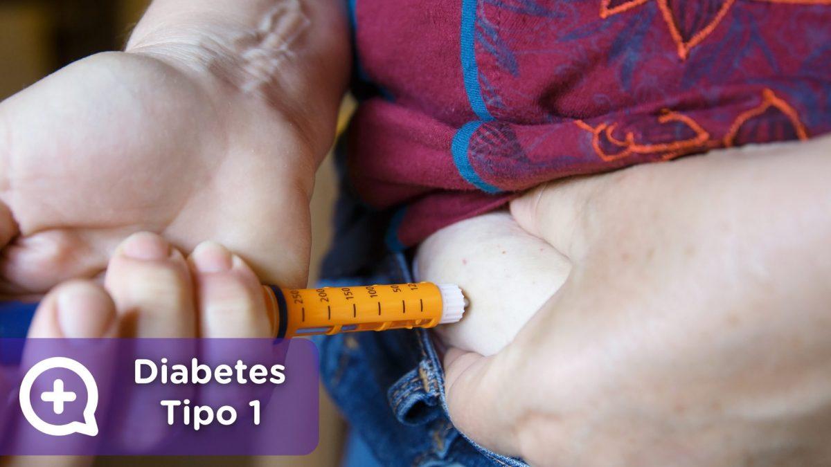 Hombre o mujer pinchando insulina. Diabetes tipo 1. Salud. Mediquo. Tu amigo médico. Chat médico.