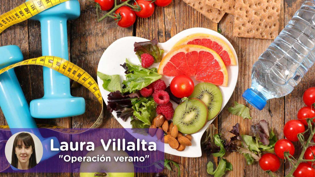 Operación bikini, dieta saludable. Nutrición, perder peso, kilos. Laura Villalta, Mediquo, tu amigo médico. Chat médico.