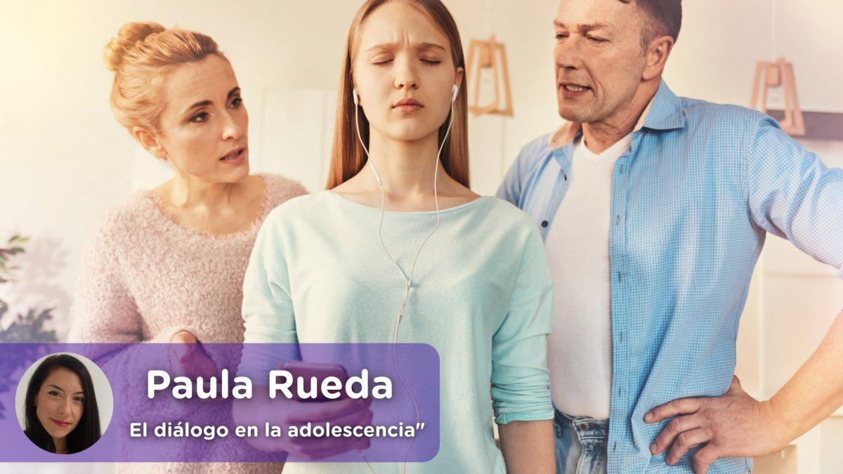 Diálogo y adolescencia. Psicología. Paula Rueda. Mediquo, Tu amigo médico. Chat médico.