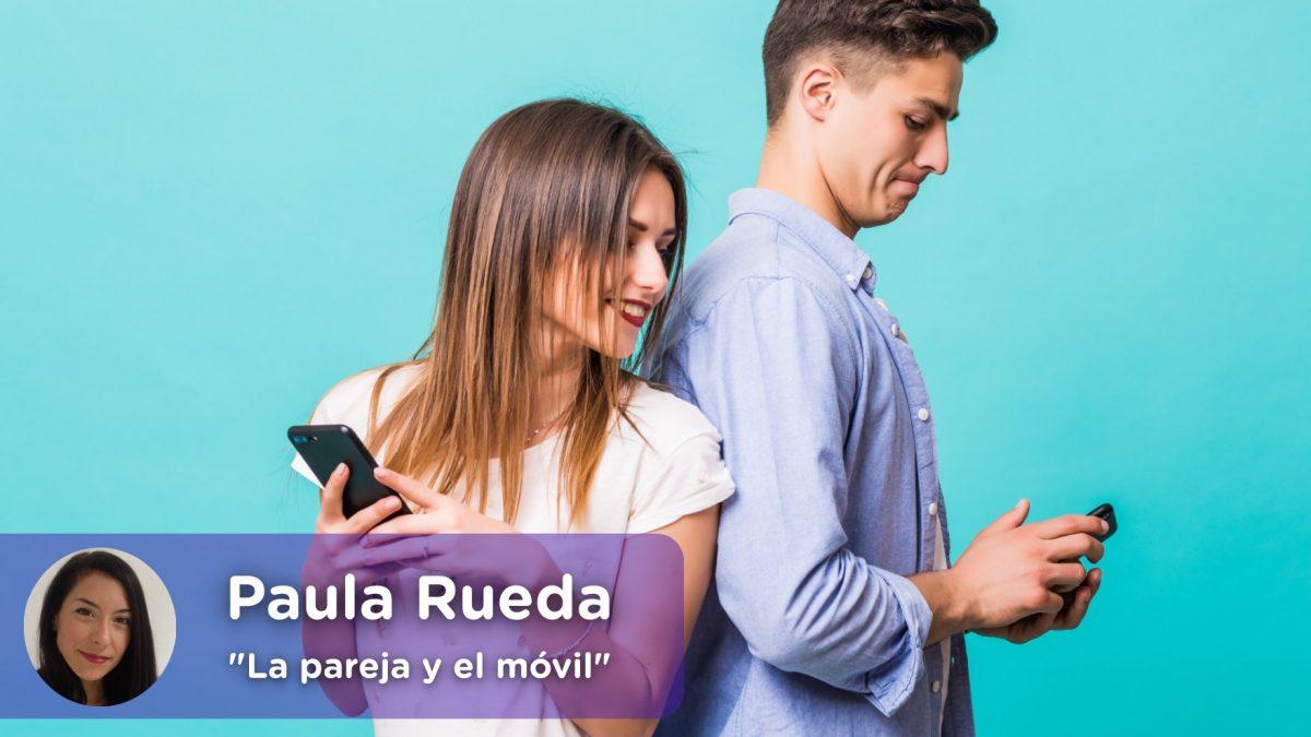 Pareja, móvil, desconfianza. Autoestima. Celos. Ruptura, relación. Psicología. Mediquo,. Tu amigo médico. Chat médico. Paula Rueda.