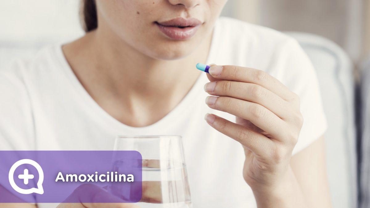 Amoxicilina, antibiótico, prescripción médica. Mediquo, Tu amigo médico, Chat médico.