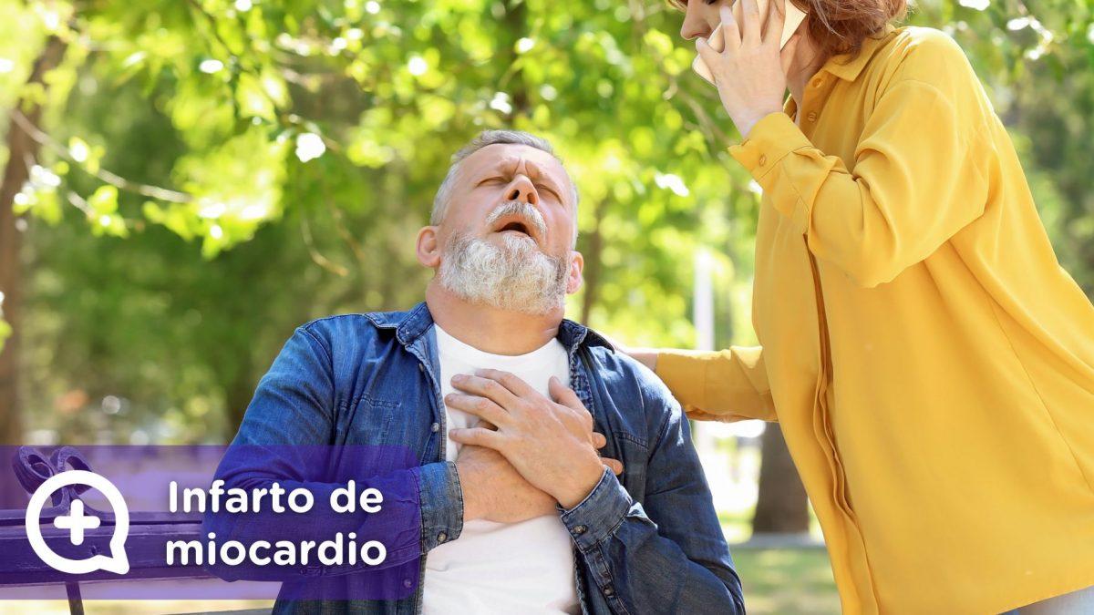 Infarto de miocardio. Angina. Dolor, presión pecho. Mediquo, Tu amigo médico. Chat médico.