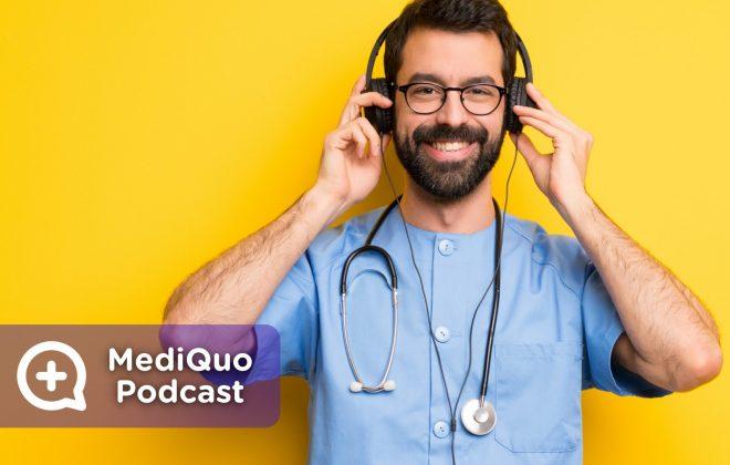 Mediquo Podcast. Salud. Spotify, Ivoox. Plataforma Digital.