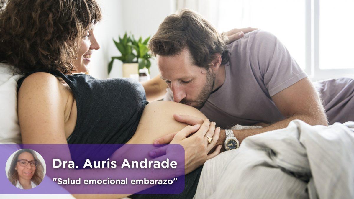 Salud emocional durante el embarazo. Ginecología. Auris Andrade, Mediquo, Salud.