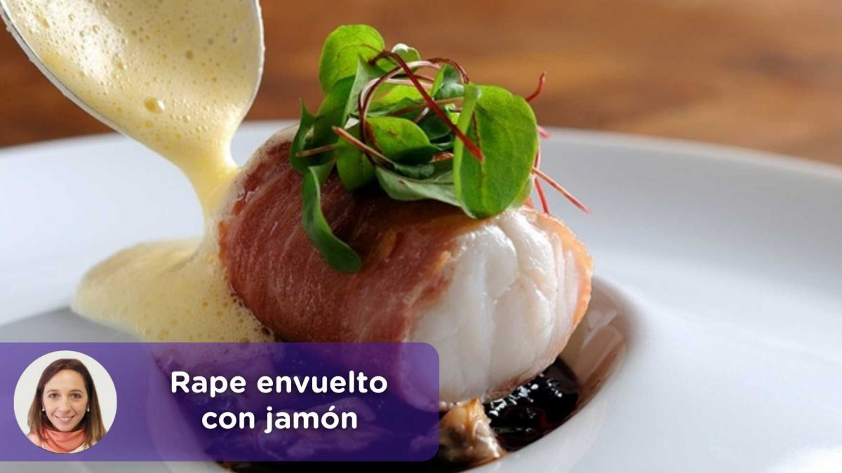 receta rape envuelto con jamón. mediquo, nutrición, Cristina Romagosa. Salud. MediQuo.