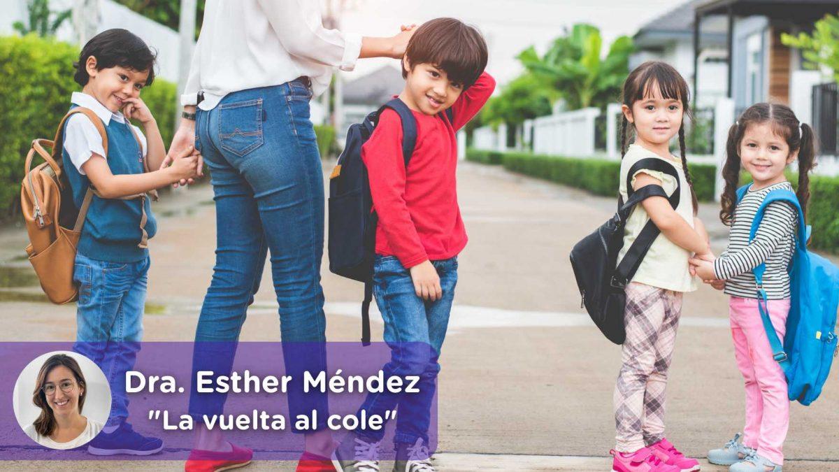 5 acciones para hacer la vuelta al cole más sencilla. Padres, madres, niños. Mediquo, Tu amigo médico. Chat médico. Esther Méndez.