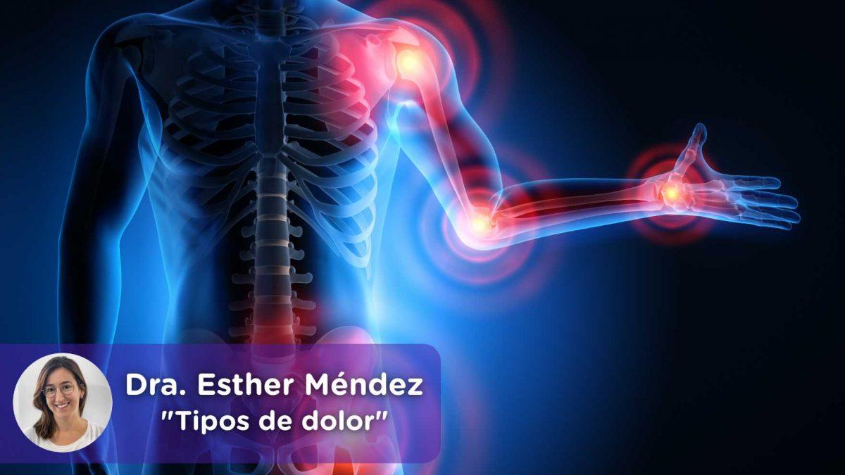 Tipos de dolor, dolor crónico, severo, sensorial. Esther Méndez, Mediquo, Tu amigo médico. Chat. Salud.