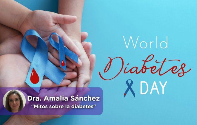 Día Mundial de la diabetes. MediQuo. Amalia Sánchez. Salud.