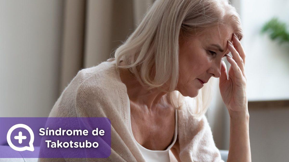Síndrome Takotsubo, infarto de miocardio, estrés. menopausia, ansiedad. depresión. Mediquo. Salud.