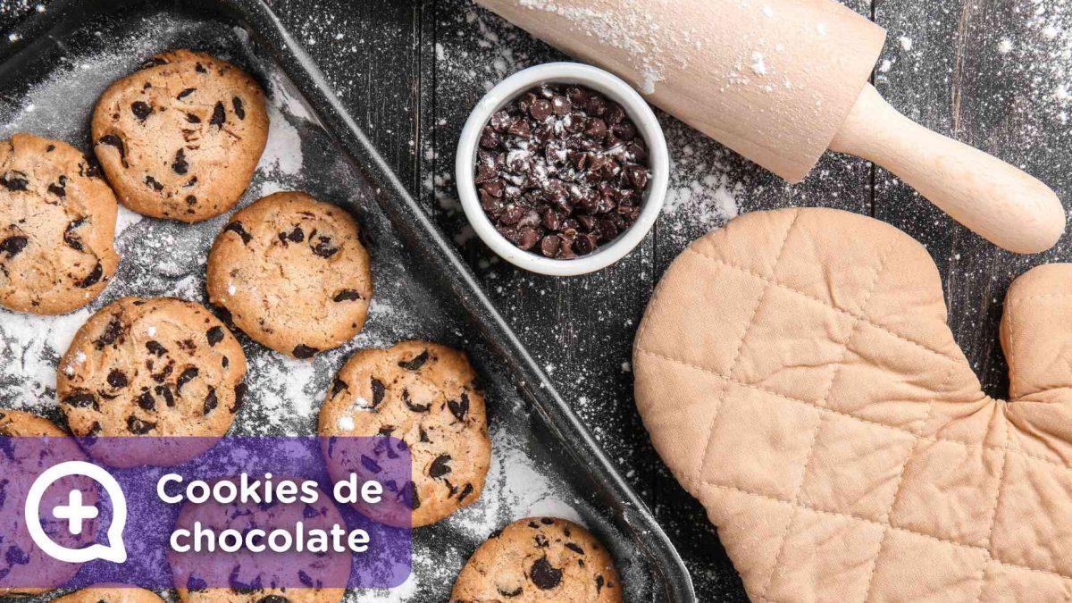 Como hacer cookies de chocolate al horno. Recetas fáciles. Mediquo.