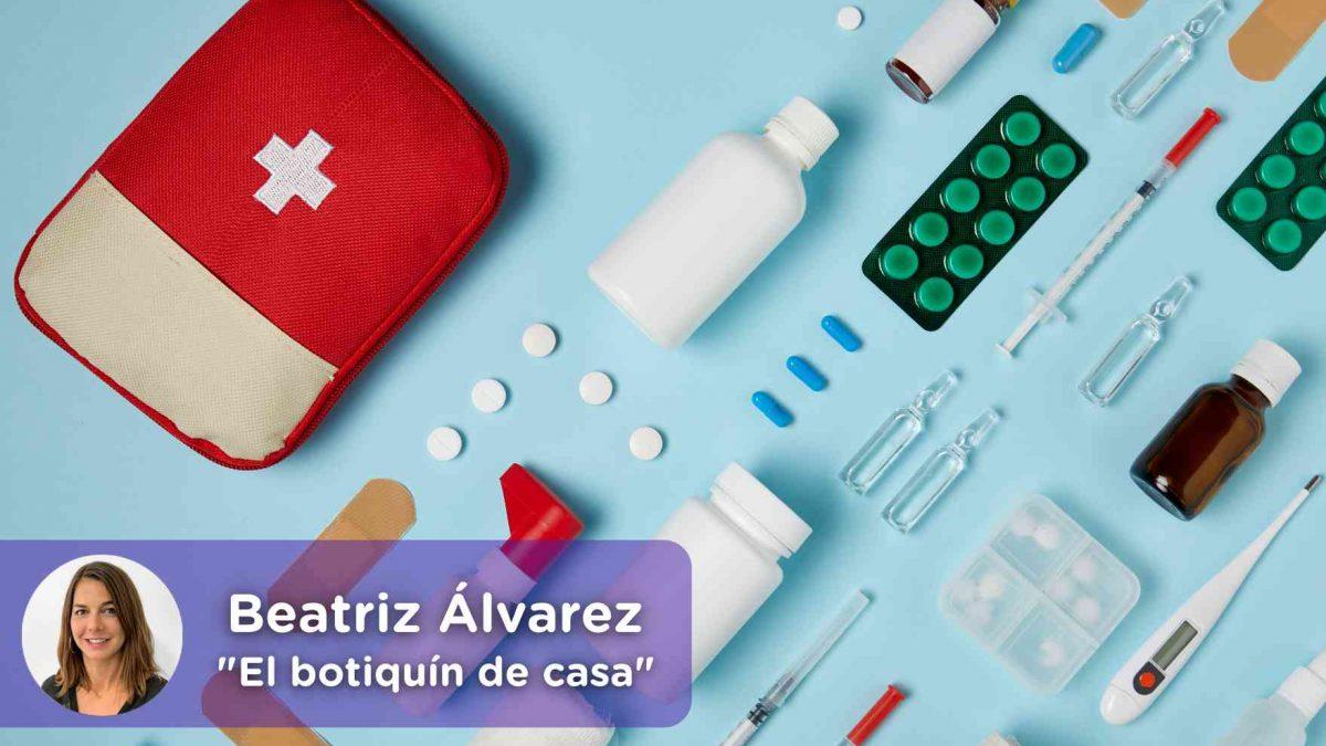Que debe contener el botiquín de casa. Medicamentos. Salud. Prevención. mediquo.