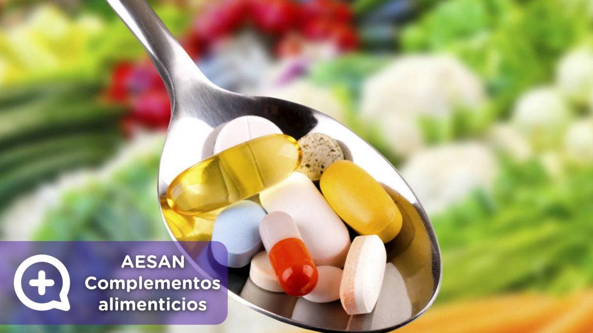 AESAN, complementos alimenticios, Sanidad, Coronavirus, COVID19, MediQuo, Salud.
