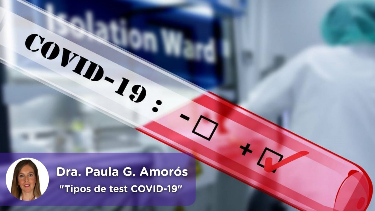 Tipos de test covid19, coronavirus, pcr. mediQuo, Salud, telemedicina, app, Paula García Amorós