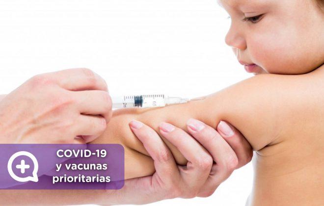 Vacunación prioritaria en tiempos de coronavirus, niños, pediatra, mediquo, salud, ministerio de sanidad.