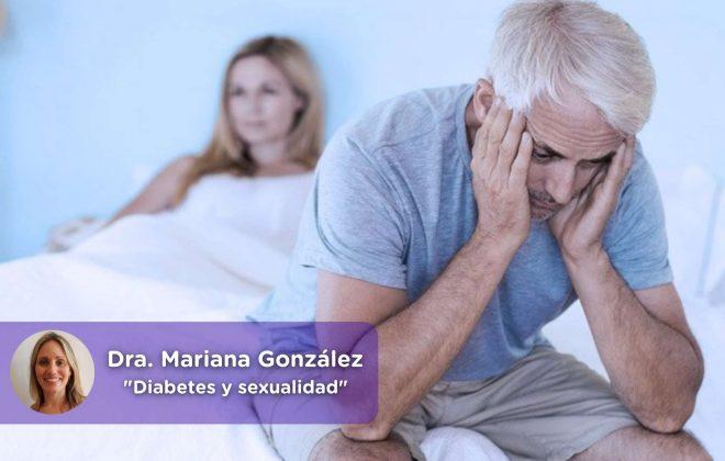 Diabetes y sexualidad masculina. Mediquo, Salud, urología, nutrición, vida sana. Dra. Mariana González.