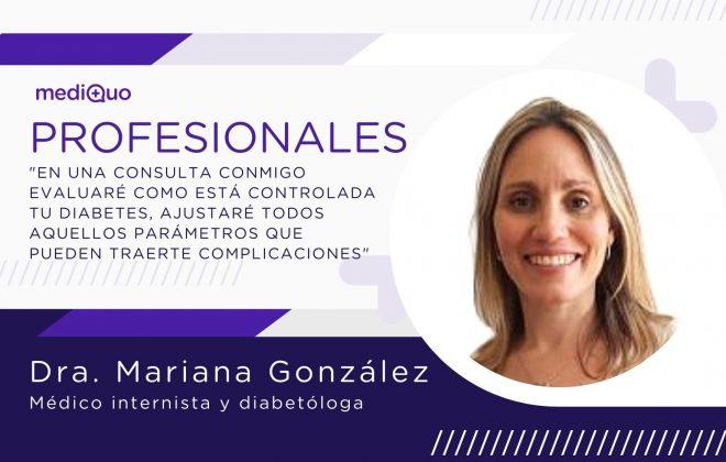 Mariana González Diabetóloga Profesionales blog mediQuo. Chat médico. Telemedicina. Diabetes.