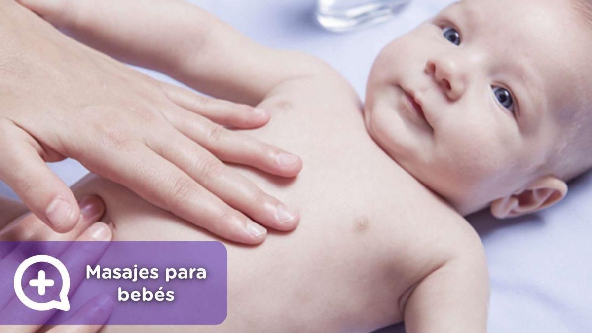 masajes cólicos, estreñimiento, dolor de barriga en los bebés. mediQuo, pediatría, salud.