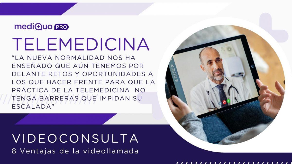 Videoconsulta videollamada Telemedicina mediQuo PRO
