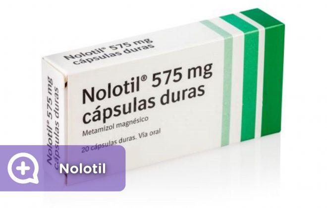 qué es el nolotil y para que sirve, antalgina, metamizol, dipirona, dolor, salud, mediQuo