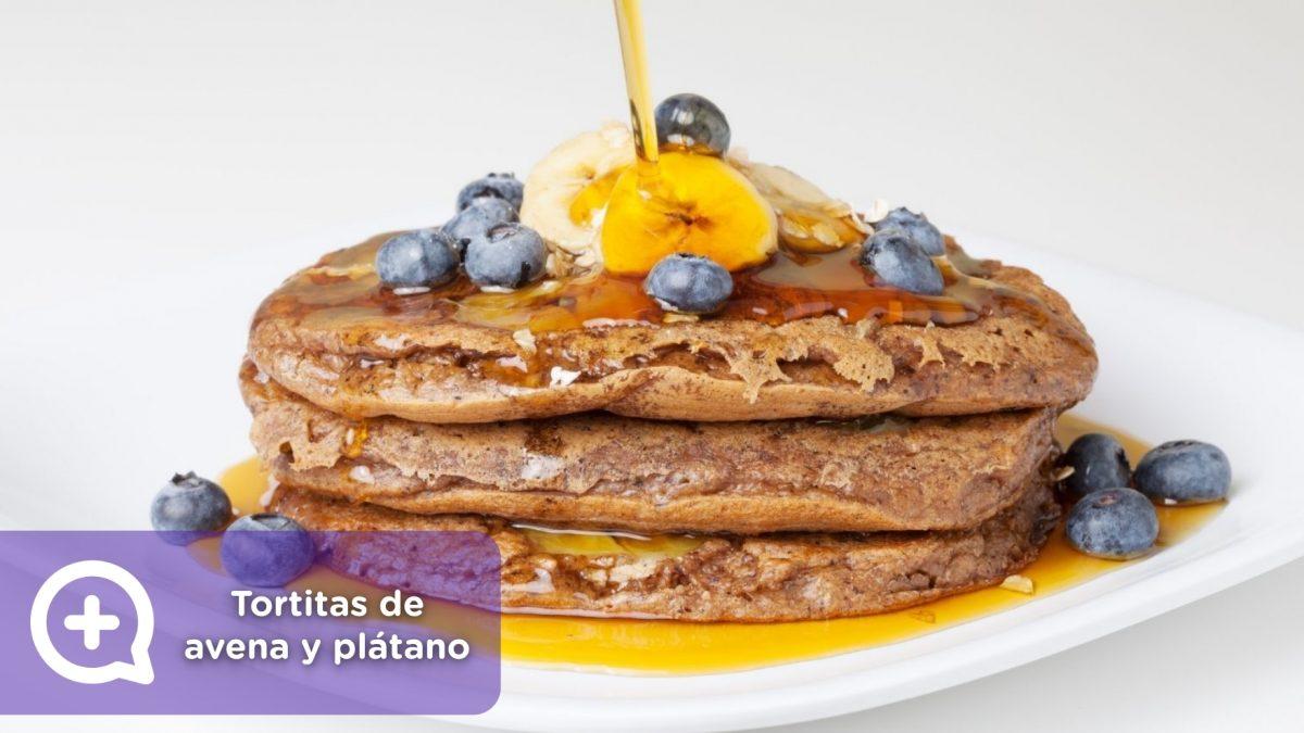 receta, recetas, harina vegetal, tortitas de avena y plátano mediquo