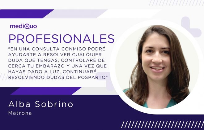 Profesionales Alba Sobrino Matrona MediQuo, embarazo, vida sexual, posparto, maternidad, embarazadas, consulta médica, consulta online.