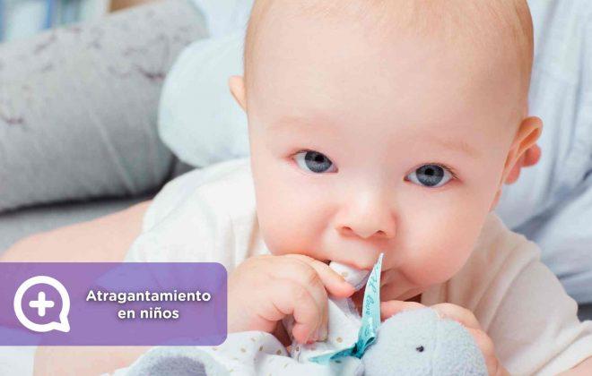 cómo reconocer y actuar en caso de atragantamiento en niños, mediquo, recomendaciones, salud