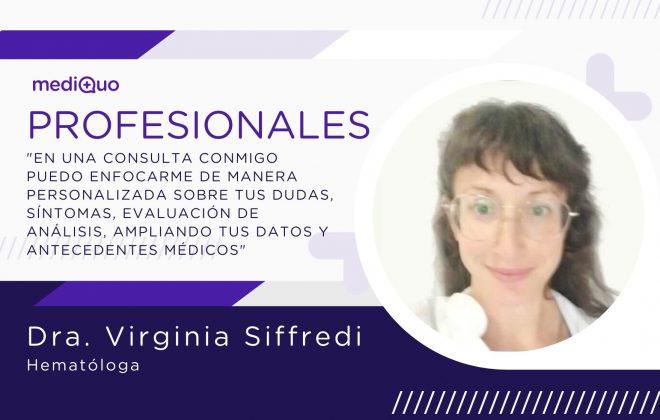 Virginia Siffredi MediQuo PRO Hematología