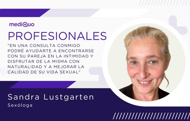 Sandra Lustgarten Sexóloga mediQuo, chat médico, psicóloga