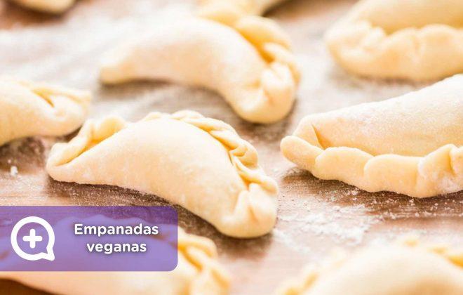 Empanadas veganas caseras de temporada, receta, recetas fáciles, mediquo, nutrición, salud
