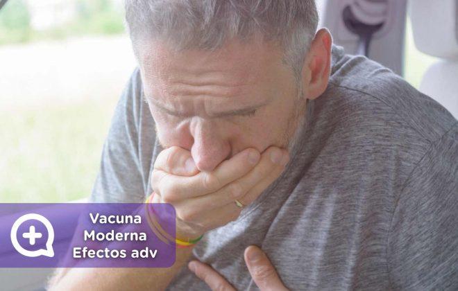 Vacuna Moderna, efectos adversos, mediquo, salud