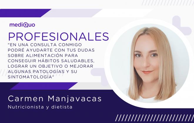 Carmen Manjavacas_Nutricionista y Dietista mediQuo