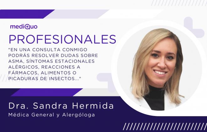 Profesionales blog mediQuo Dra. Sandra Hermida Medicina General y Alergología