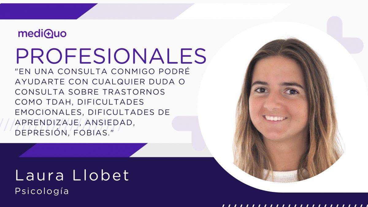 Laura Llobet mediQuo profesionales psicología