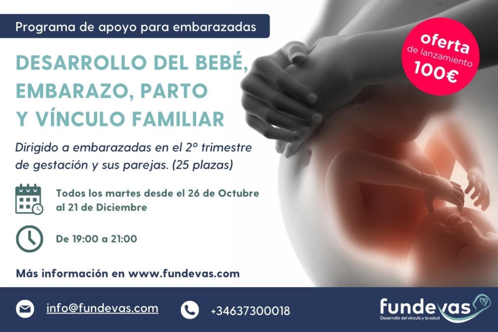 2 edición Banner Fundevas 600x400. Embarazo. maternidad, parto, mediquo, sauld, ginecología