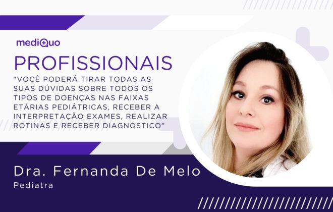 Fernanda De Melo MediQuo BR Pediatra