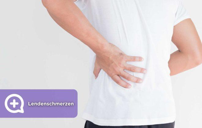 Schmerzen im unteren Rückenbereich mediQuo