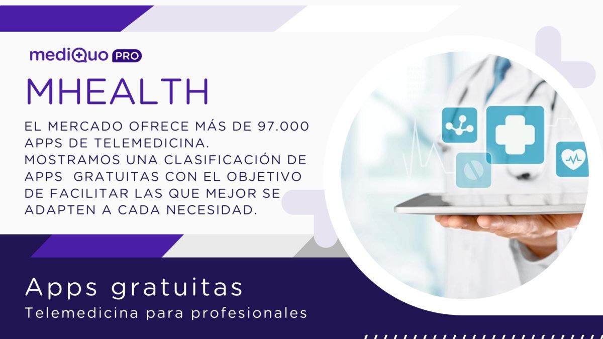 Apps gratuitas de telemedicina para profesionales de la salud y médicos