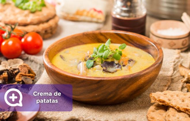 Crema de patatas y setas_mediQuo_recetas