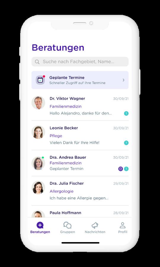 MediQuo DE - Patienten app